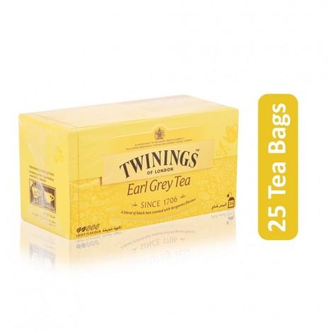 Twinings Earl Grey Tea - 25 Tea Bags