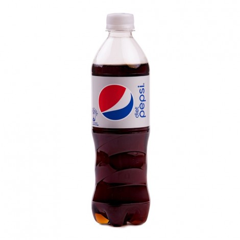 Diet Pepsi, Carbonated Soft Drink, Plastic Bottle, 500 ml
