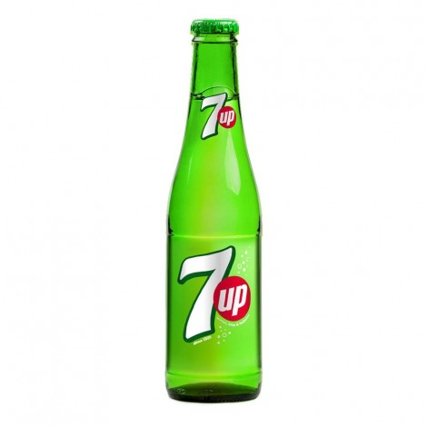 7UP, Carbonated Soft Drink, Glass Bottle, 250ml
