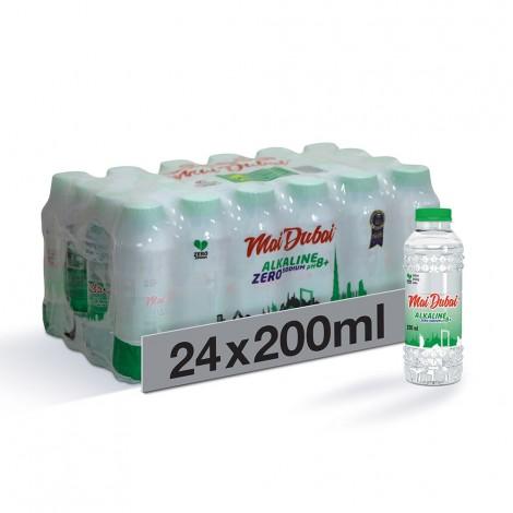 Mai Dubai Alkaline Zero Sodium Bottled Drinking Water - 24 x 200 ml