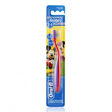ORAL B Stages 2 Disney Mickey Mouse Toothbrush - 2-4 Years