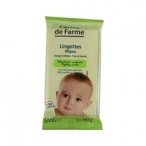 Corine De Farme - Baby Face Wipes 10'S