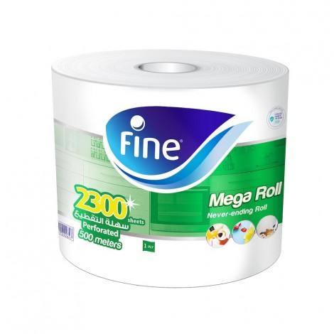 Fine Mega Roll Kitchen Paper Towel - 500 meter