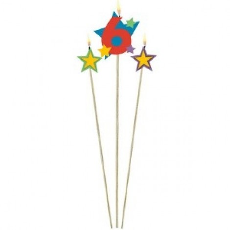 Amscan Birthday Candles - 175208, Multi Color