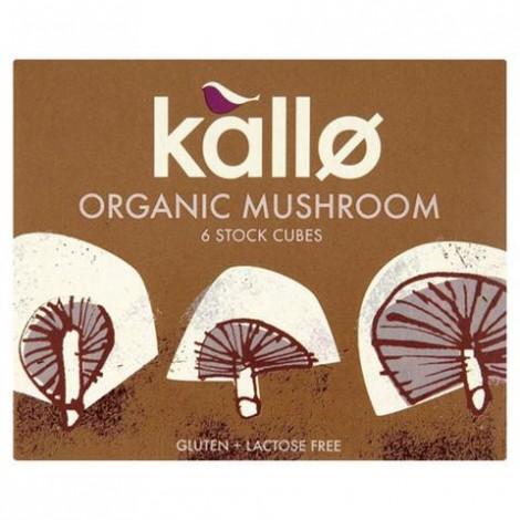 Kallo Organic Cubes Mushroom
