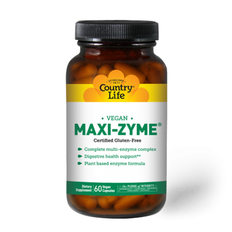 Country Life Maxi-Zyme Extra Strength Capsules 60's