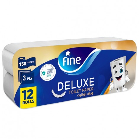 Fine Toilet Tissue Extra Strong - 8+4