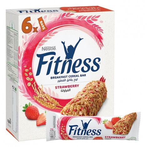 Nestle Fitness Strawberry Cereal Bar 23.5G (6 Pieces)