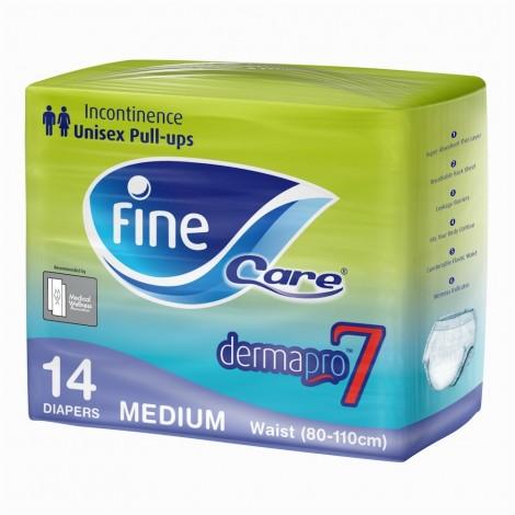 Fine Care Incontinence Adults Unisex Pull-Ups - Medium, Waist 80-110 cm, 14 Counts