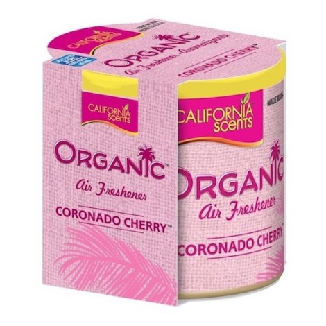 California Scents Organic Extra Air Freshener Cherry