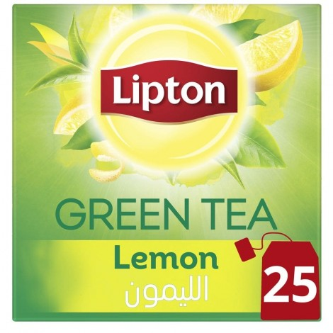 Lipton Lemon Green Tea - 37.5 g