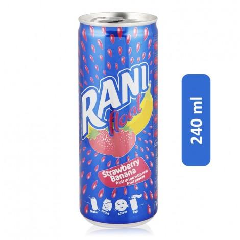 Rani Float Strawberry Banana Fruit Drink - 240 ml