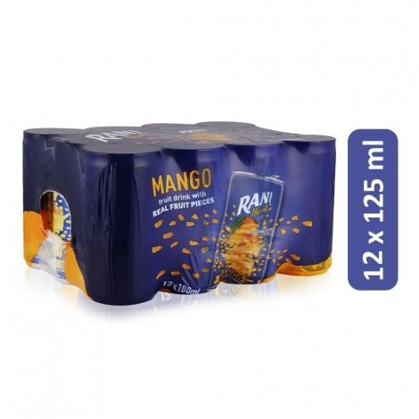 Rani Float Mango Fruit Drink - 12 x 180 ml