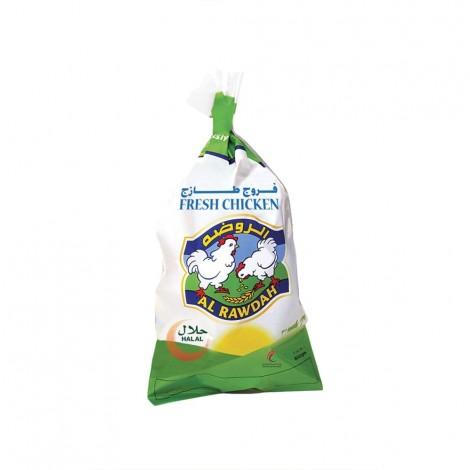 Al Rawdah Fresh Whole Chicken, 800gm