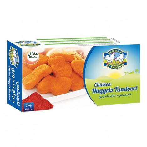 Al Rawdah Chicken Nuggets Tandoori - 270 g