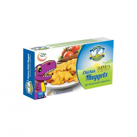 Al Rawdah Chicken Dino Nuggets - 250 g