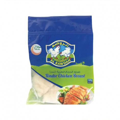 Al Rawdah Tender Chicken Breast - 1 Kg