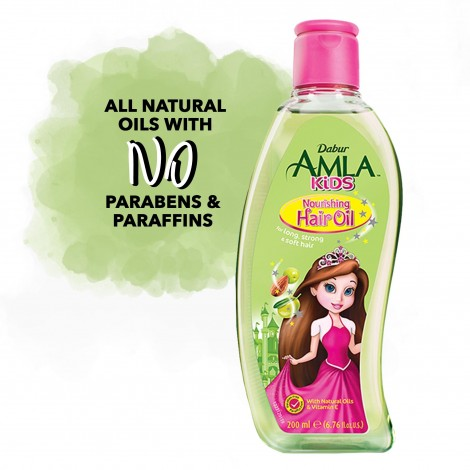 Dabur Amla Kids Nourishing Hair Oil - 200 ml