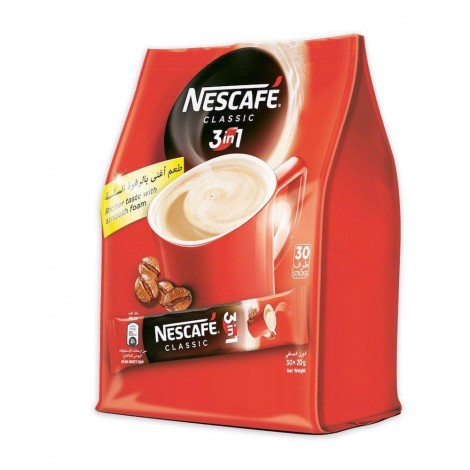 Nestle 3 In My Cup 30X20Gm