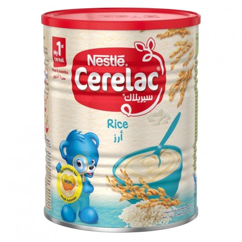 NESTLE CERELAC Infant Cereals with iRON+ RICE Baby Food 400g Tin