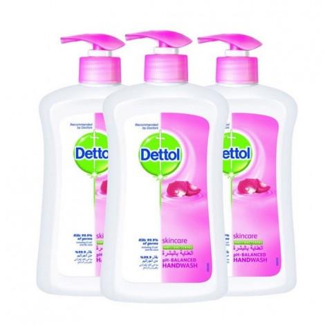 Dettol Skin Care Hw - 3x200ml