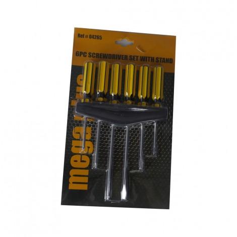 Mega Plus M+6P Screwdriver Set W/Stand