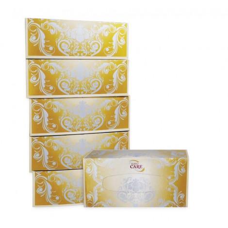 Euro Care Facial Tissue White 6x200x2ply