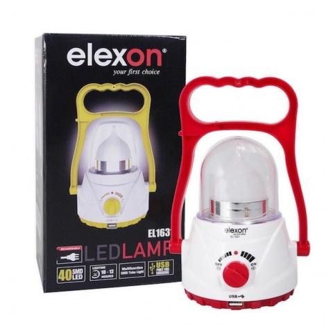 Elexon Rechargeable 40Smd Led D Light
