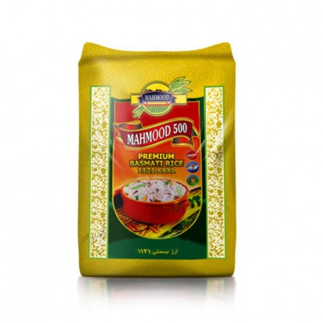 Mahmood 500 Premium Basmati Rice 1121 – 20 KG