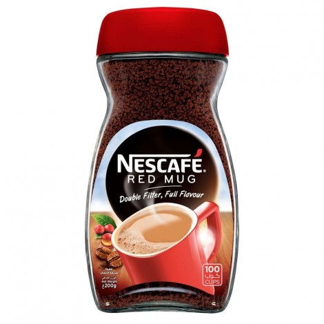 Nescafe Red Mug Instant Coffee 200g Jar
