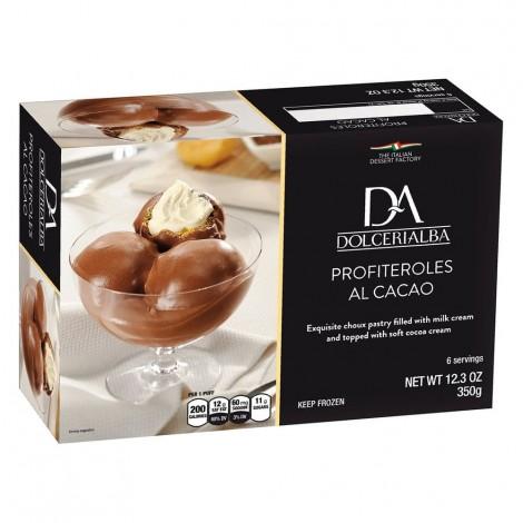 Dolceria Alba Profiteroles Cacao 350g
