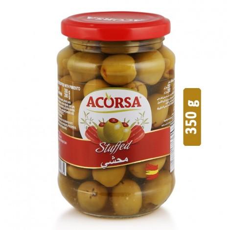 Acorsa Stuffed Green Olives - 350 g