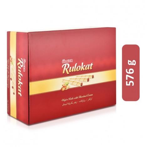 Ulker Rulokat Wafer Rolls with Hazelnut Cream - 576 g