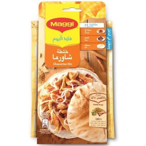 Maggi Chicken Shawarma Mix Sachets, 40gm