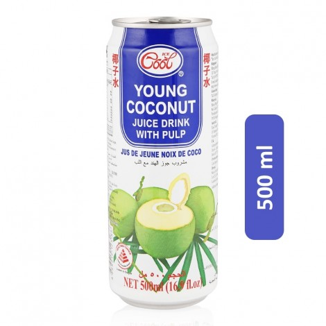 Ice Cool Young Coconut Juice Drink - 500 ml