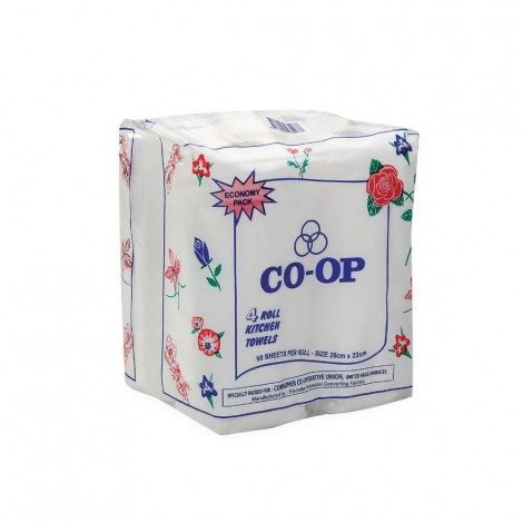 CO-OP KITCHEN TOWEL ECONO 4's