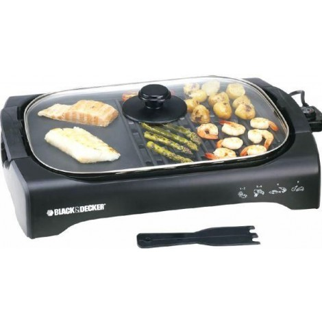 Black and Decker Life Style Healthy Grill 2200W, LGM70-B5