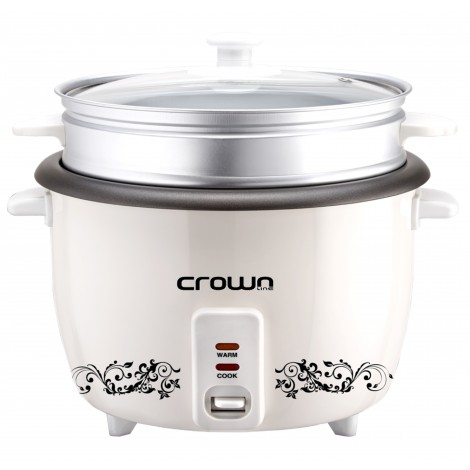 Crownline 0.6L Rice Cooker, RC-168