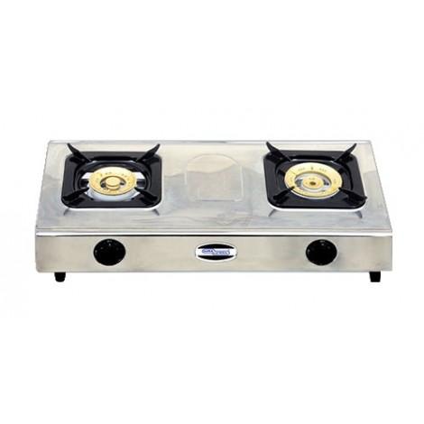 Super General Table Top 2 Burner Gas Stove SGB02SS