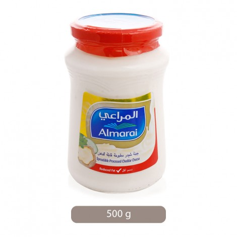 Almarai-Spreadable-Processed-Cheddar-Cheese-with-Vegetable-Oil-500-g_Hero