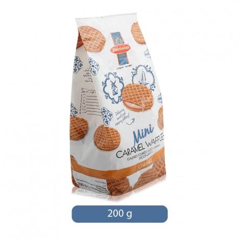 Daelmans Mini Caramel Waffles Biscuit - 200 g