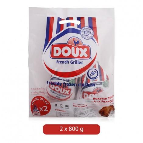 Doux French Griller Freshly Frozen Chicken - 2 x 800 g