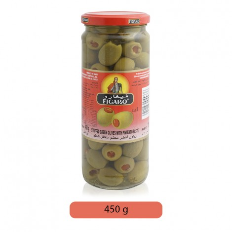 Figaro-Stuffed-Green-Olives-With-Pimento-Paste-450-g_Hero