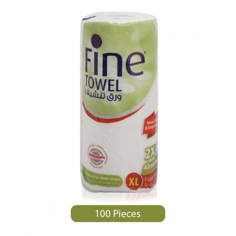 Fine-2-More-Absorbent-Kitchen-Towel-Rolls-100-Sheets_Hero