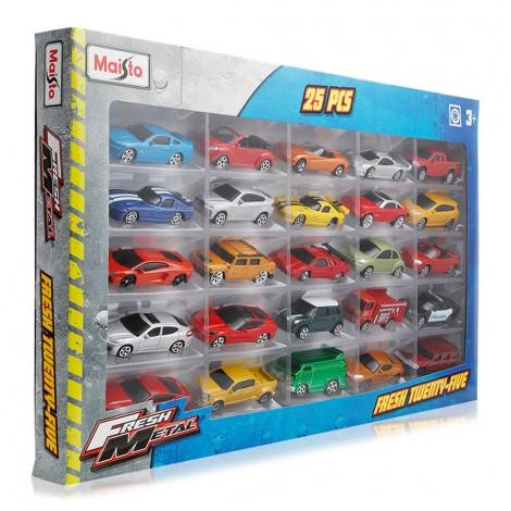 Maisto-Fresh-Metal-Car-Toy-25-Set_Hero