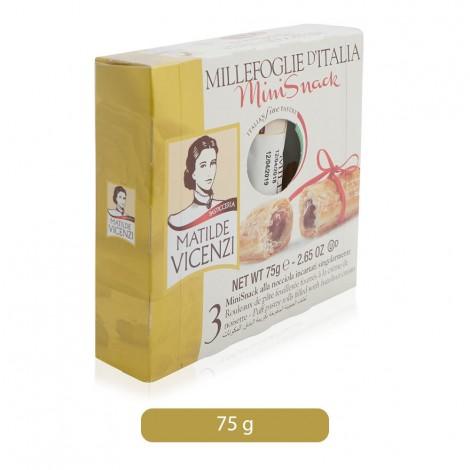 Matilde Vicenzi Millefoglie D'Italia Mini Snack - 75 gm