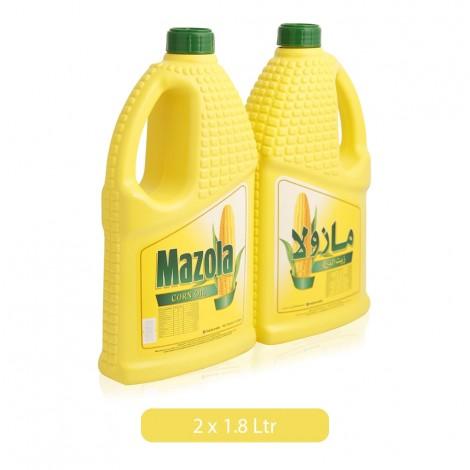 Mazola Corn Oil 2 X 1.8 Ltr