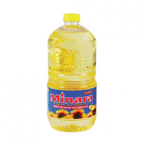 Minara Sunflower Oil, 3 Liter