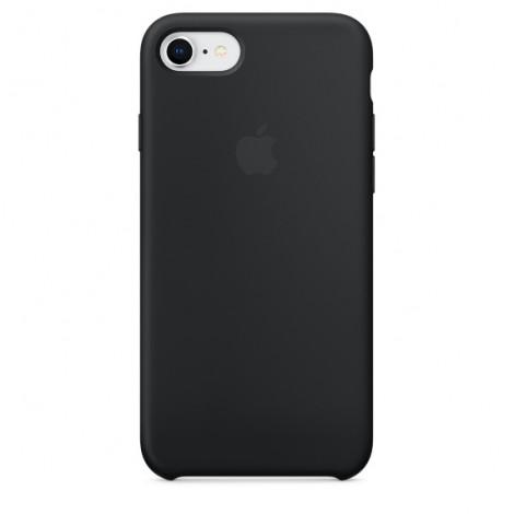 Apple iPhone 8 / 7 Silicone Case - Black MQGK2ZM/A