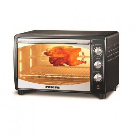 Nikai Electric Oven 25Ltr With Rotisserie, NT2500R